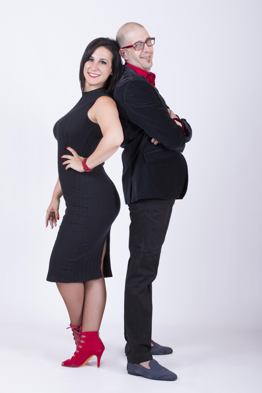 Johnny Eguía y Laura Alonso
