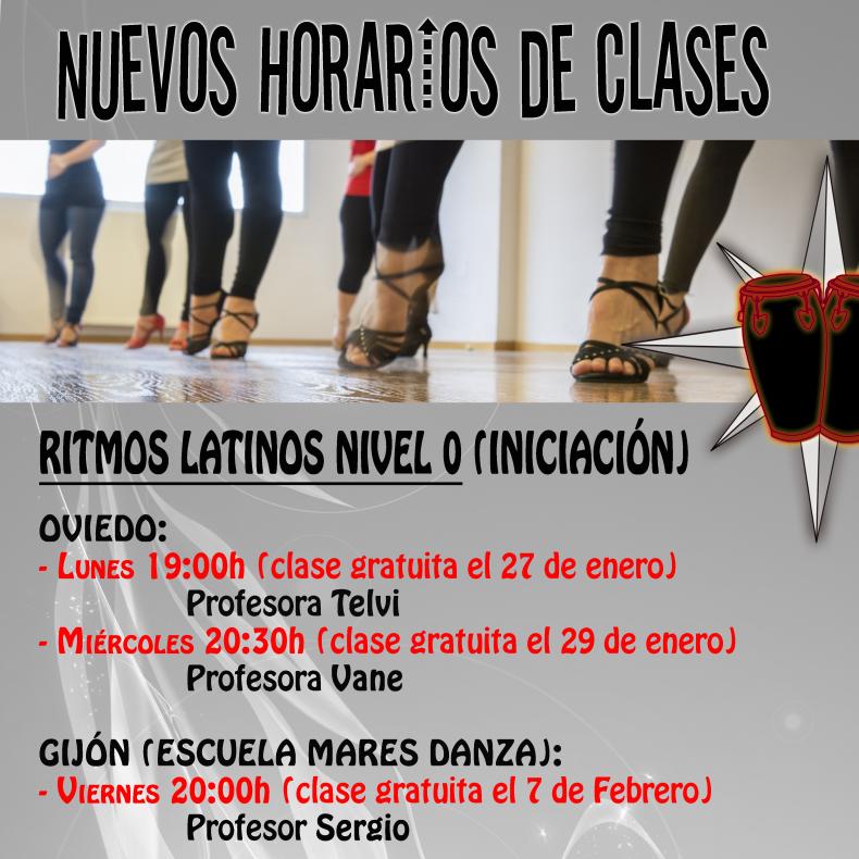 Enero/Febrero 2020. Empezamos clases de iniciación. Primera sesión gratis!