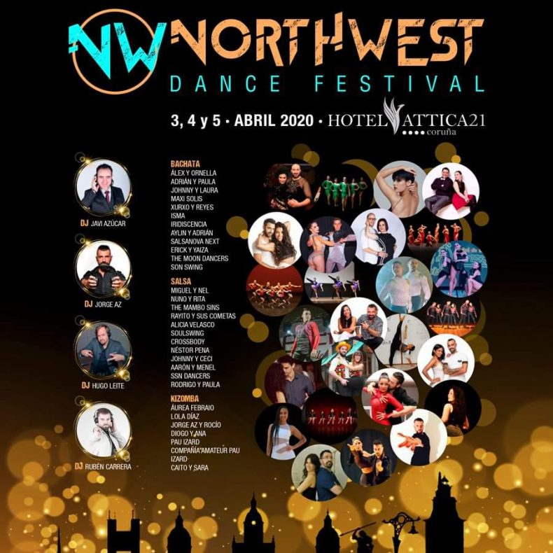 Johnny y Laura en Northwest Dance Festival
