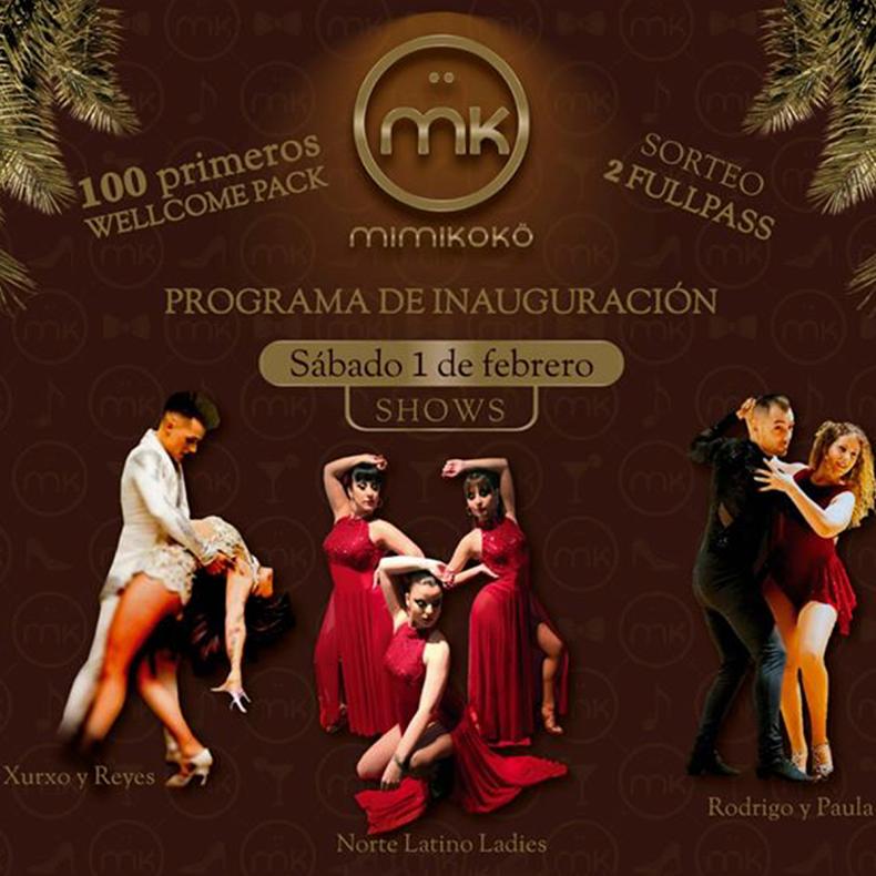 Norte Latino Ladies en el show inaugural de la sala Mimikokö en Gijón