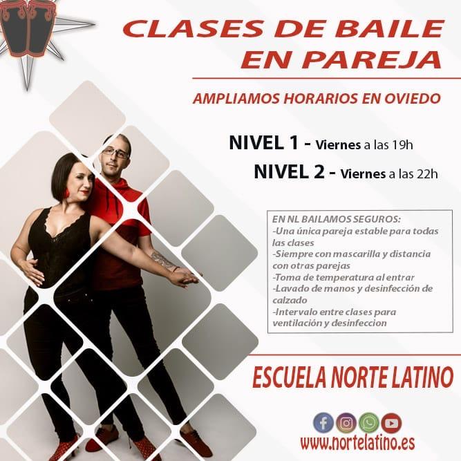 Noviembre: apúntate a las nuevas clases de baile en pareja