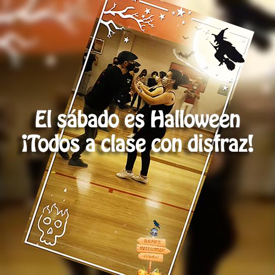 El sábado es Halloween: todos a clase con disfraz!