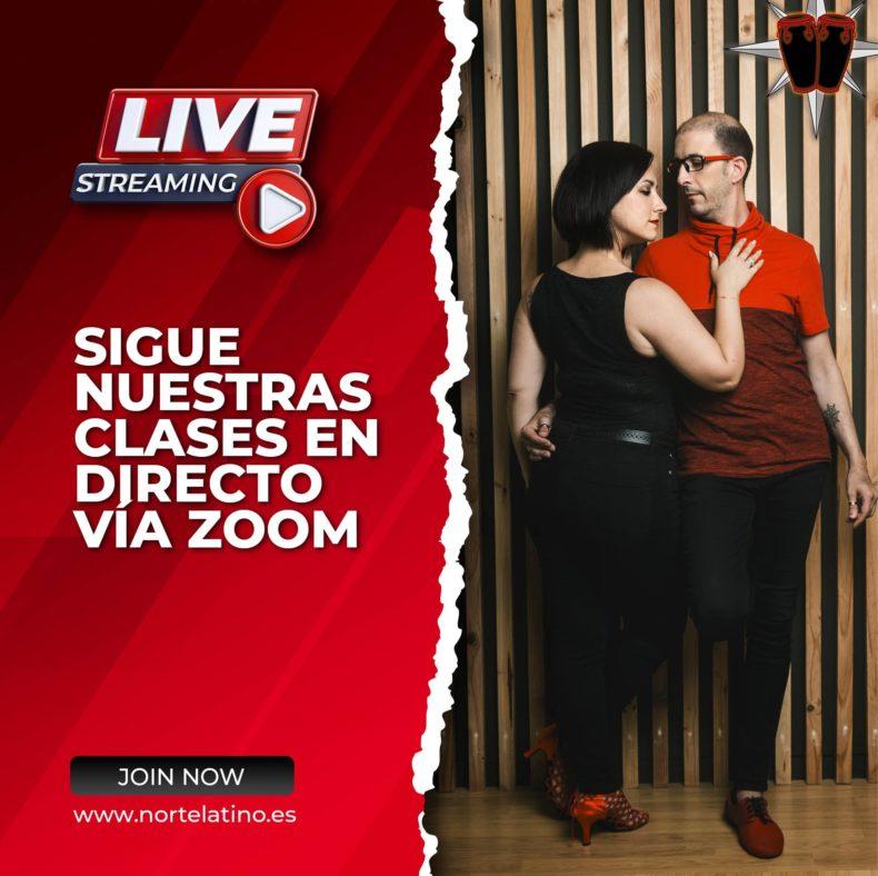 Norte Latino ofrece sus clases en directo vía Zoom