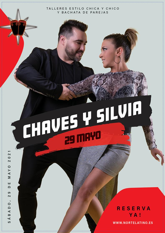 Apúntate a los talleres de Chaves y Silvia ¡No te quedes sin tu plaza!