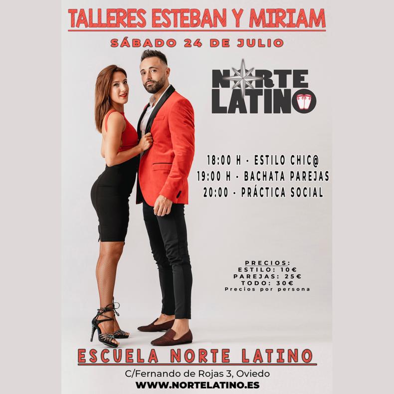 Mejora tu técnica, aprende y diviértete con Esteban y Miriam