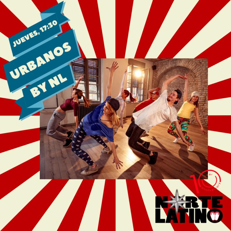 Bailes urbanos by NL. Todos los jueves a las 17:30 ¡Apúntate ya!